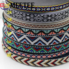 9yards=8.19Meters Rretro Costume Embroidered Webbing Lace Ribbon DIY Clothes Bag Sewing  Fabric Clothing Accessories