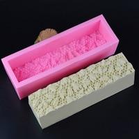 Toast Silicone Mold Roses Bee Nest Handmade Soap Mold DIY Toasts Rectangular Box Soap Soap Mold