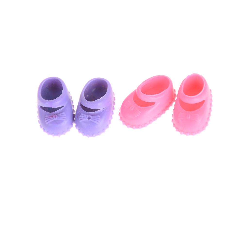 5Pairs 12cm  Doll Shoes Accessories Kelly Doll Confused Doll Shoes Kids,Gift,Toy