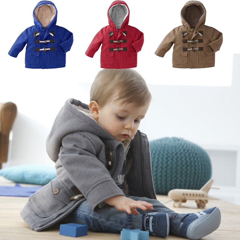9beb7ecc4 New 2016 Baby Boys Children outerwear Coat Fashion Kids Jackets for ...