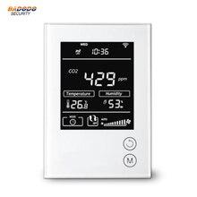 MCOHOME เทคโนโลยี CO2 Monitor MH9 Z   Wave sensor Monitor CO2 ความเข้มข้นใน air ความแม่นยำสูง
