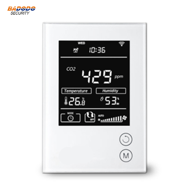 MCOHOME Technology CO2 Monitor MH9 Z Wave enabled sensor Monitor CO2 concentration in air with high accuracy