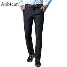 Big Size Casual Pants Männer 2016 Marke Neue Winter Baumwolle In Voller Länge Kleid Hosen Male Reißverschluss Chino Hosen