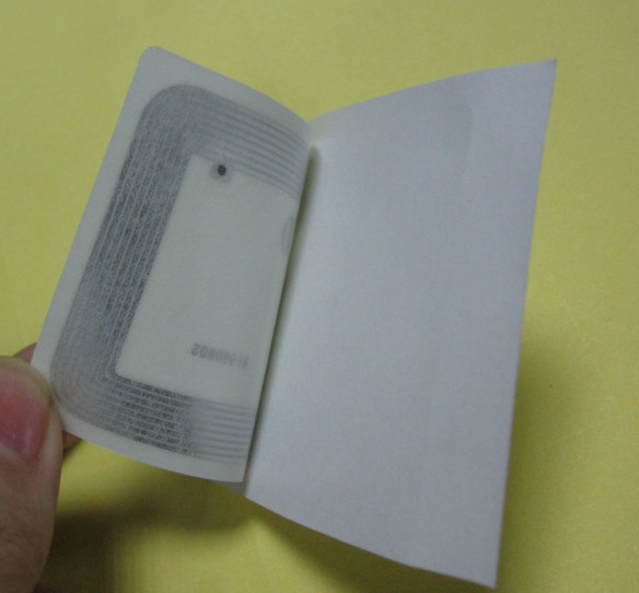 10pcs NFC Sticker 41x26mm Rectangle 13.56MHz RFID Label 1k Access Control
