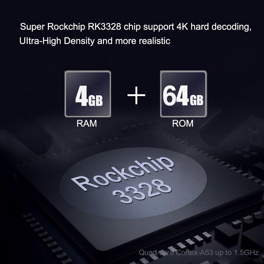 L8STAR X88 MAX + RK3328 4GB 64GB 2.4G + 5G double WiFi Android 9.0 TV BOX Quad core Smart Tv box 4K type-c USB 3.1 BT4.0 décodeur - 3