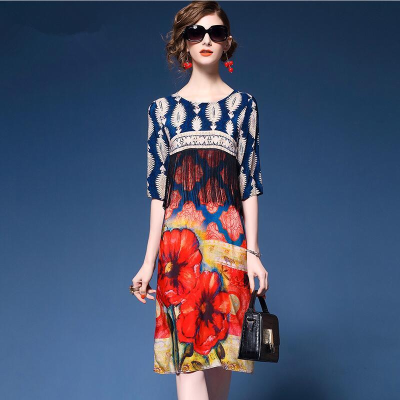 Vestidos de verano ropa americana
