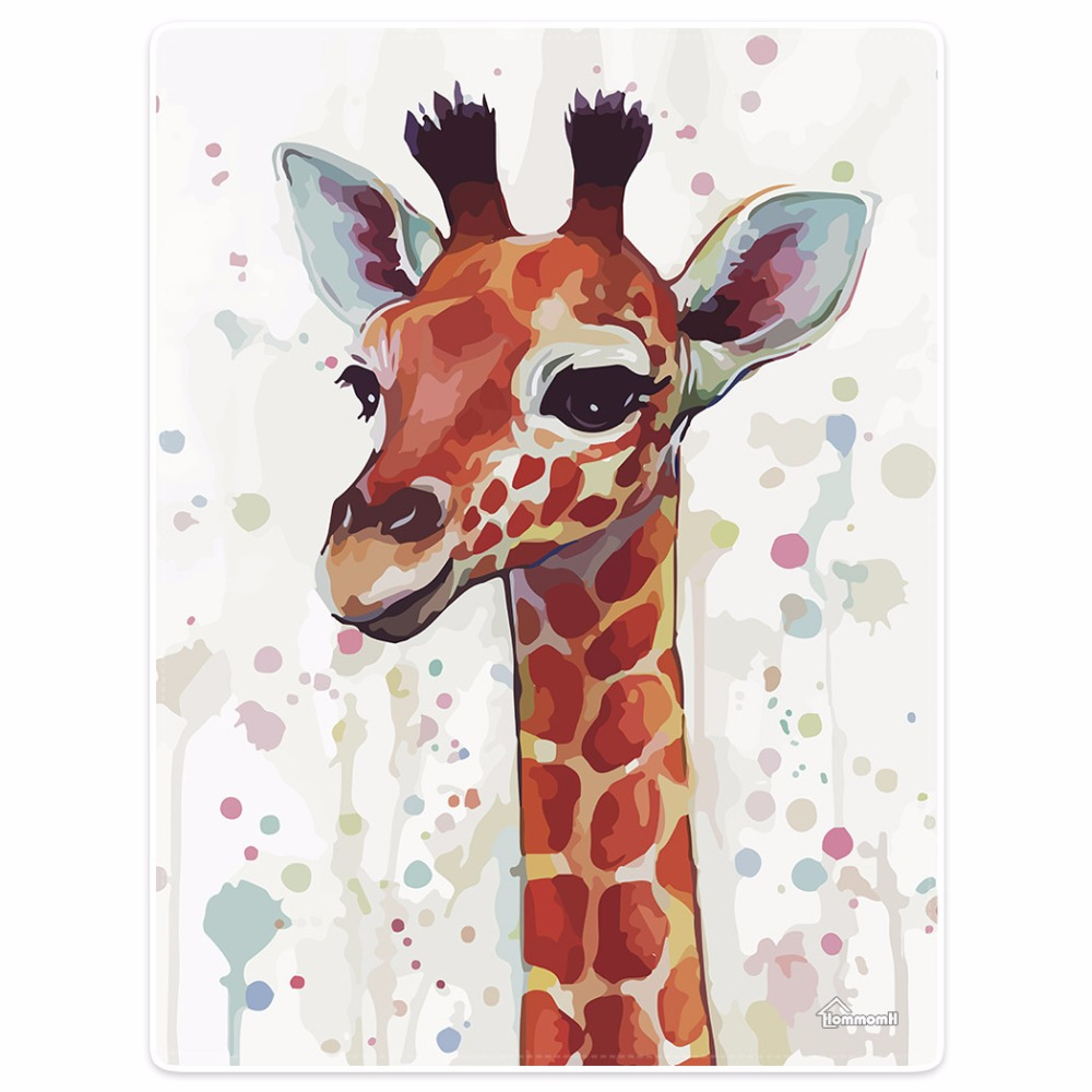 Blanket Comfort Warmth Soft Plush Easy Care Machine Wash Abstract colorful giraffe design camouflage background Sofa Bed blanket-in Blankets from Home & Garden    1
