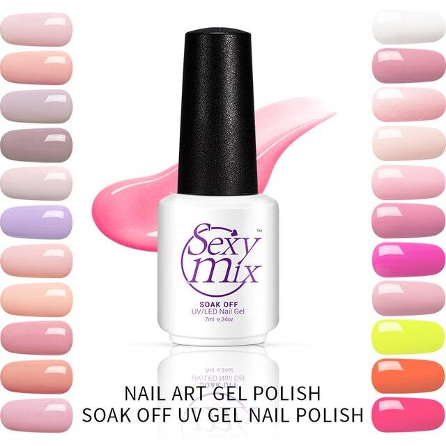 Sexy Mix Uv Nail Gel Lak 60 Kleuren Losweken Gel Nail Polish Nail