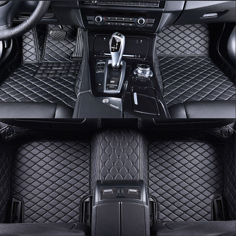 car floor mats for DS DS3 DS4 DS4S DS5 DS6 car accessories car styling Custom foot mats Black/Beige/Gray/Pink/Red/Coffee 3D цены