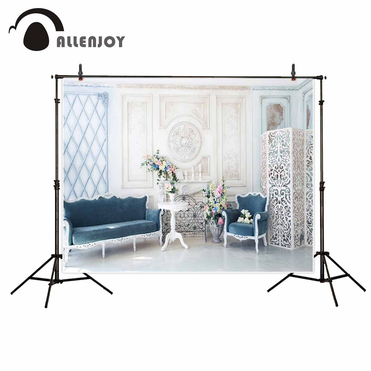 Audacious Allenjoy Elegant Indoor Sofa Flower Chair Furniture Backgrounds For Photo Studio For A Photo Shoot Professional Luxuriant In Design Consumer Electronics