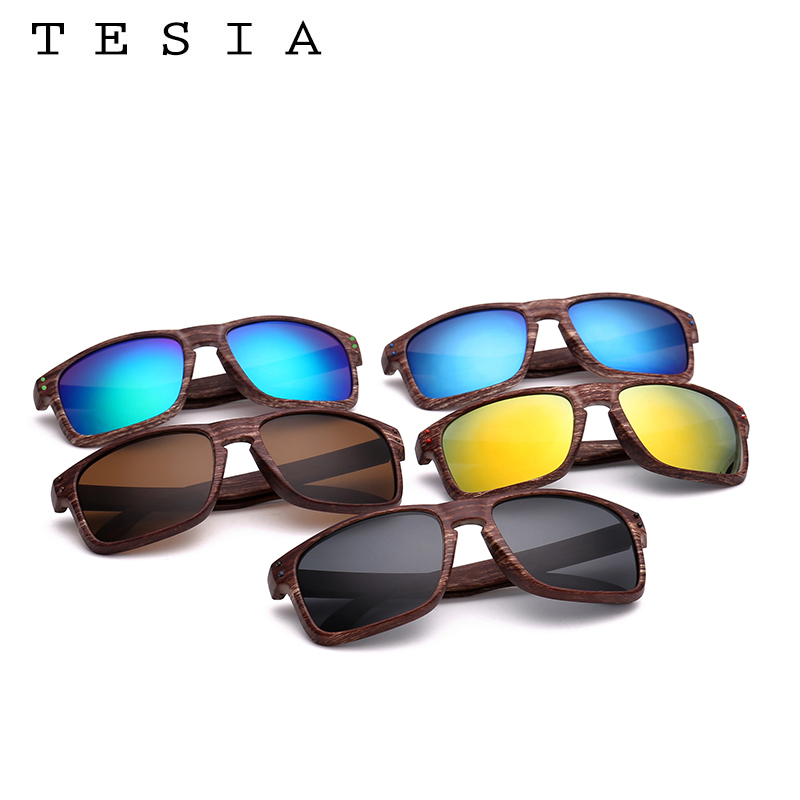 TESIA Brand Designer Wood Sunglasses Men Women Outdoors Glasses - Apparel Accessories - Photo 6