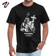 Tops & Tees Shirts Psychobilly Summer Autumn Trust Sleeve Tunisia Fabric Round Collar Boy T-shirts Printed 2019 Hot Sale