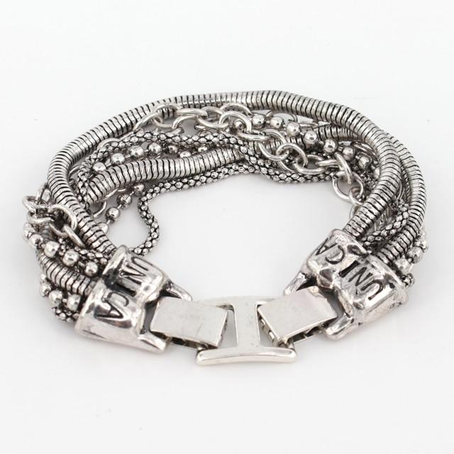 Bohemian Multi Layer Bracelet Mawgie