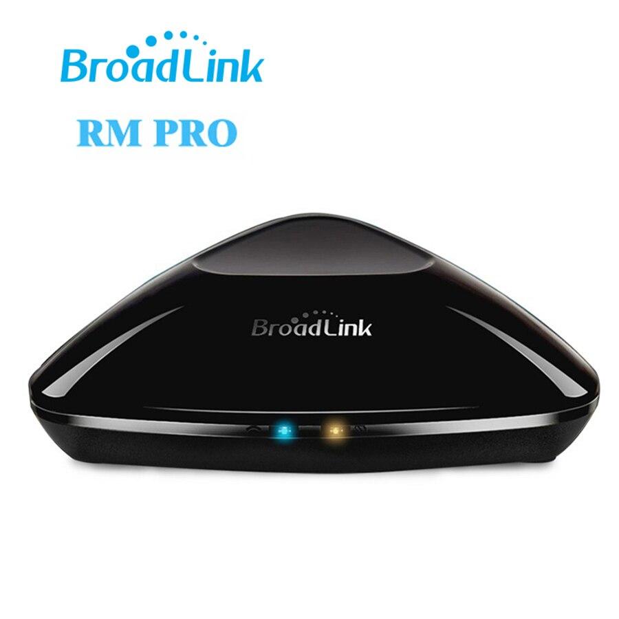 Последним Broadlink RM3 RM PRO Универсальный Интеллектуальный WI-FI пульт дистанционного управления Умный дом WI-FI + IR + RF-коммутатором IOS Android-смартфон