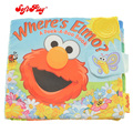 Gift for kids 1pc 20cm creative Soft Play where's Elmo game story cloth book ring paper high quality baby stuffed toy