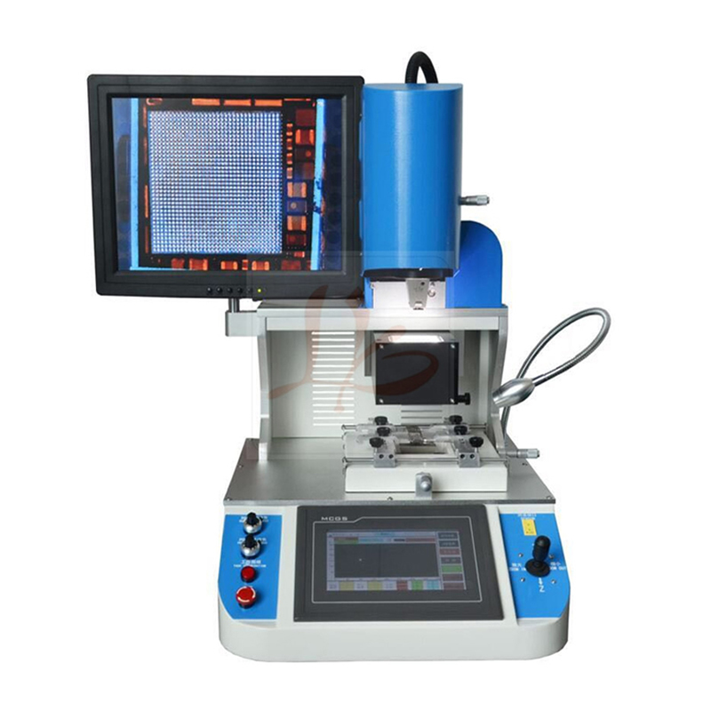LY 5300 Auto Optical Alignment System Mobile iPhone IC BGA Rework Machine Soldering Station Hot Air f 204 mobile phone laptop bga rework reballing station hot air gun clamp