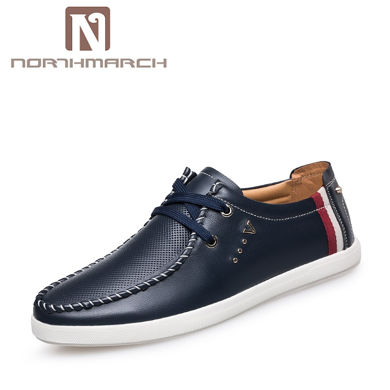 NORTHMARCH Genuine Leather Men Loafers Mens Shoes Casual Slip On Driving Shoes Men Moccasin Gommino Boat Shoes Herrenschuhe mens shoes genuine leather casual loafers autumn fashion moccasin tenis masculino esportivo slip on for man flat driving shoes