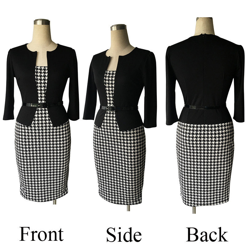 OX126 Houndstooth 3d
