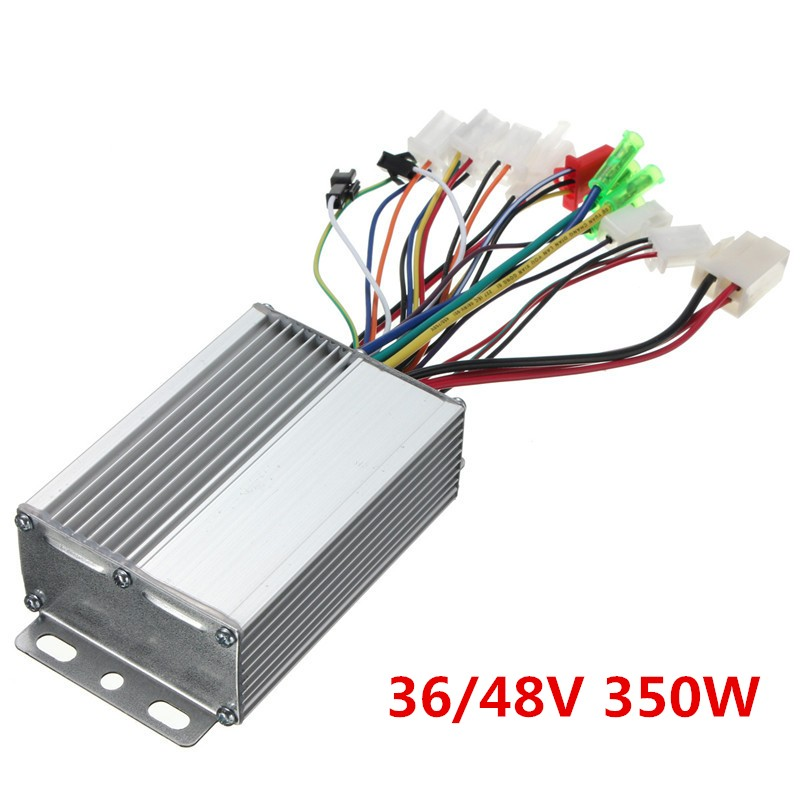 Controlador de velocidad eléctrico de 350 W 6 MOFSET controlador BLDC sin escobillas para e-bike/e-scooter/controlador de velocidad de bicicleta eléctrica