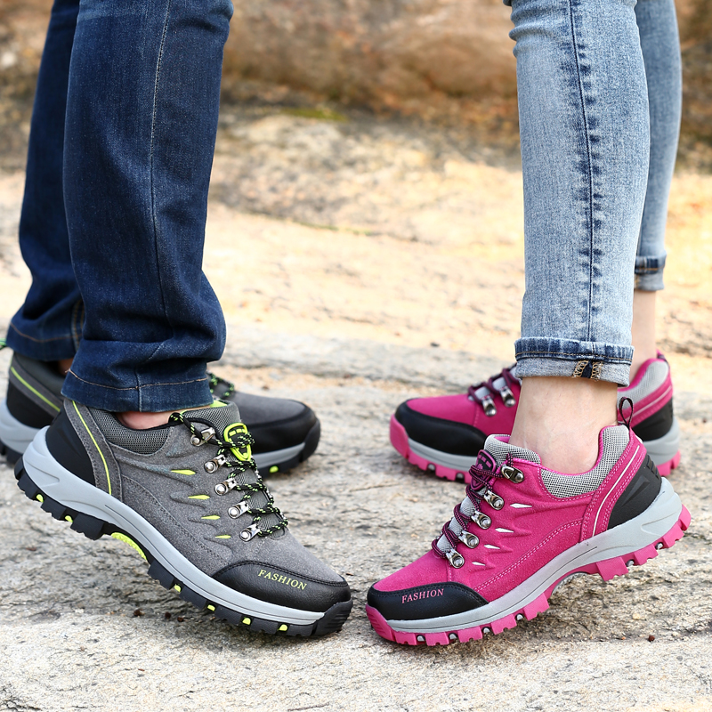 b51d1593667a3 Unisex Hiking Shoes Outdoor campline Hiking Sneakers Breathable Damping  Trail Water Sneakers zapatillas hombre deportivas-in Hiking Shoes from  Sports ...