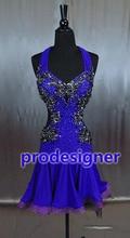 Latin Dance wear Latin Dance Costume Latin wear ballroom dance font b dress b font Prodesigner