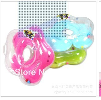 Free shipping wolesale and details baby safety swimming aid float neck ring swim rings for toddlers