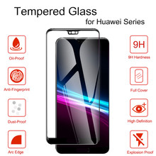 Tempered Glass For Huawei P Smart 2019 Protective Glass HD Screen Protector for Huawei Mate 20 X Lite Y7 Pro 2019 Honor Magic 2(China)