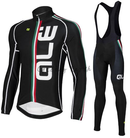 ALE 2016 #7 Winter thermal fleece clothes cycling jersey bib pants MTB bicycle wear set ropa maillot ciclismo vichy бальзам для губ aqualia thermal 4 7 мл бальзам для губ aqualia thermal 4 7 мл 4 7 мл