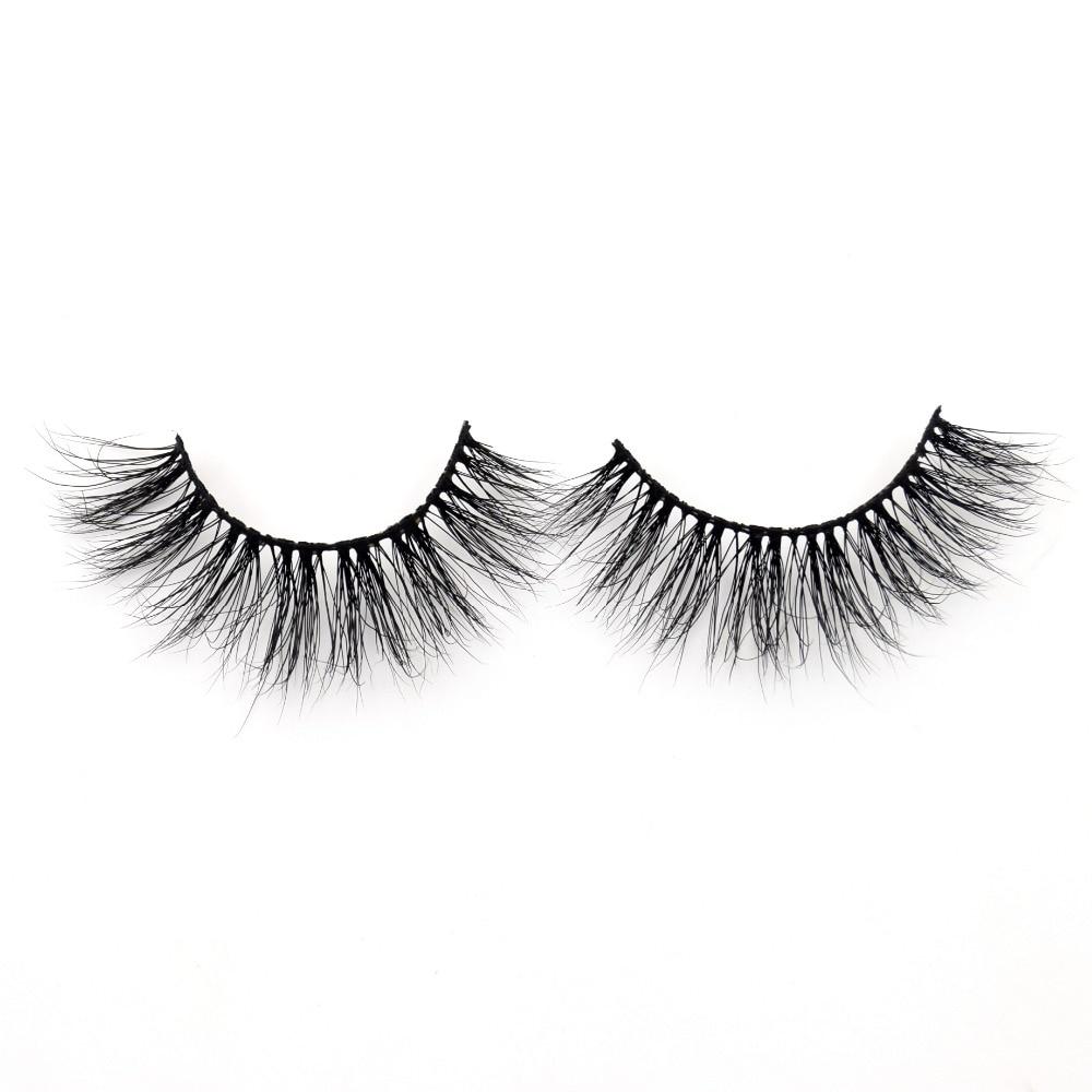 Visofree Lashes High Volume 3D Mink Lashes Reusable Dramatic Eyelashes False Eyelashes D124