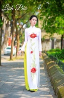 aodai vietnam clothing cheongsam aodai vietnam dress vietnamese traditionally dress cheongsam modern women aodai ao dai white