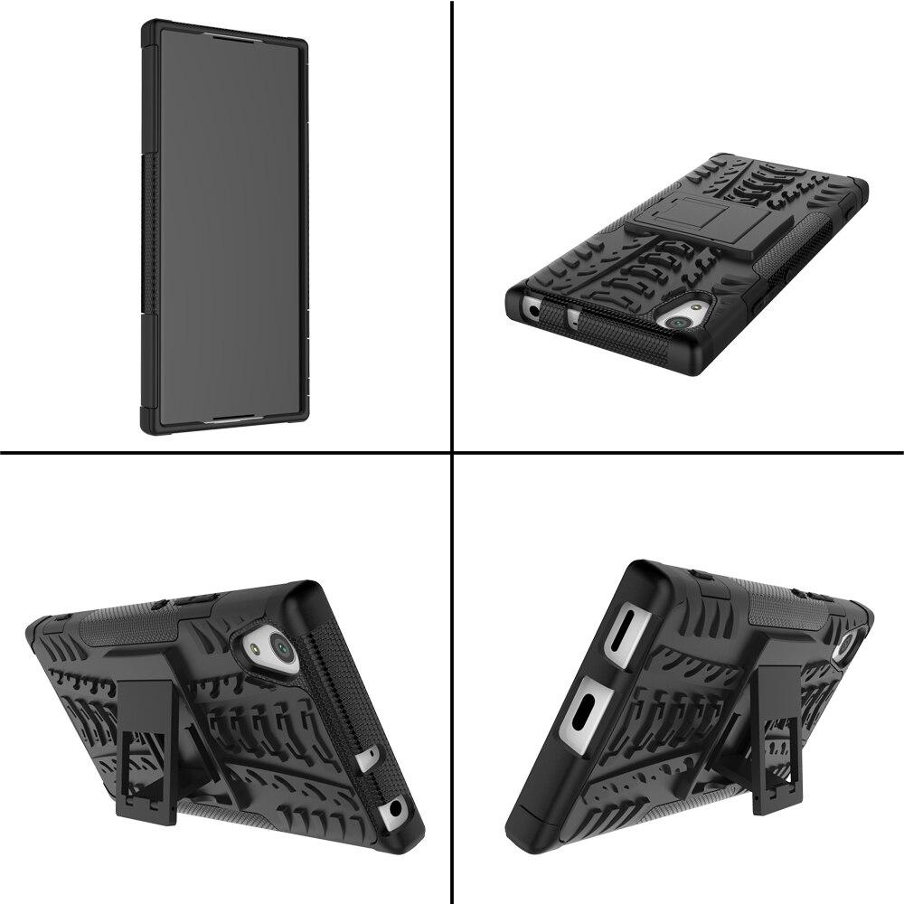 Sony Xperia XA1 G3121 G3123 G3125 Case Hybrid TPU + PC Armour Hard - Բջջային հեռախոսի պարագաներ և պահեստամասեր - Լուսանկար 4