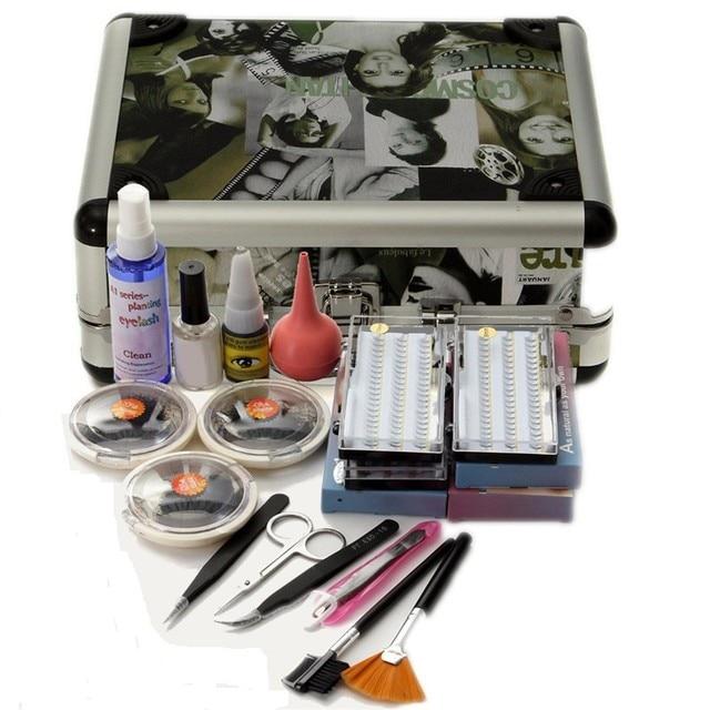 Pro 1 Set False Eye Lash Extension Individual Fake Eyelash Glue