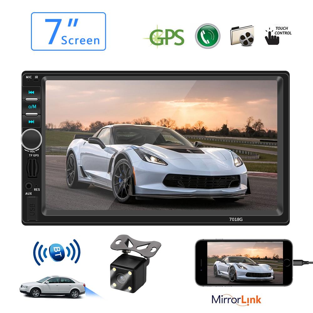 Car <font><b>Radio</b></font> Multimedia MP5 Player Bluetooth 7