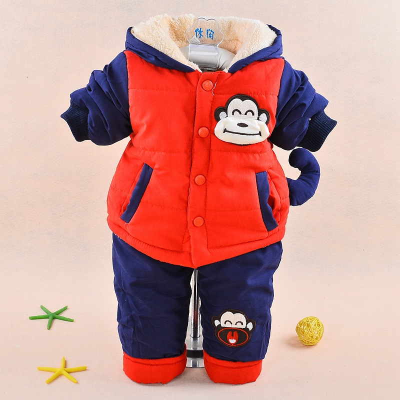 New-2017-Baby-boys-winter-clothing-suit-set-warm-down-jacketpants-long-sleeve-coat-cute-cartoon-infant-toddler-2