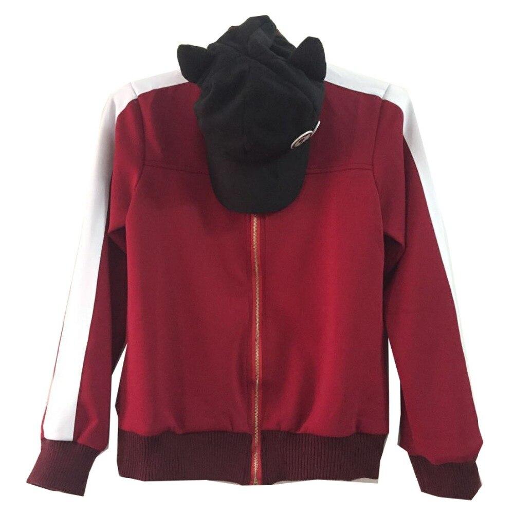 2019 Neon Genesis evanion EVA Soryu Asuka Langley chat chapeau Cosplay Costume veste manteau à capuche + chapeau