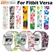 For Fitbit Versa Wristband Wrist Strap Smart Watch Band Strap Soft Watchband Replacement Smartwatch Band For Fitbit Versa Bands недорого