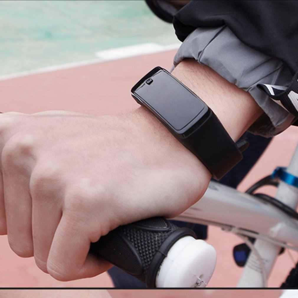 GENBOLI LED سوار معصم من السيليكون سوار خفيفة الوزن لينة موضة اللياقة البدنية ساعة رياضية باند ساعة للرجال النساء دروبشيبينغ