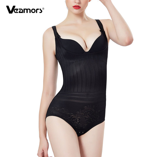 50fd98c0ba72f VEAMORS Sexy Body Shaper Adjustable Slimming Shapewear