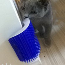 Buy  mer With Catnip Pet Toy For Cat Brush Comb  online