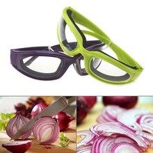 Горячий лук режущие очки Защита для глаз Избегайте слез нарезки анти-острые очки кухонный гаджет LSK99
