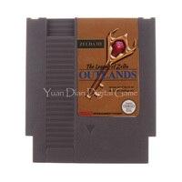닌텐도 NES 비디오 게임 카트리지 콘솔 카드 전설 젤다 3 Outlands 영어 미국/EU 유니버설 버전