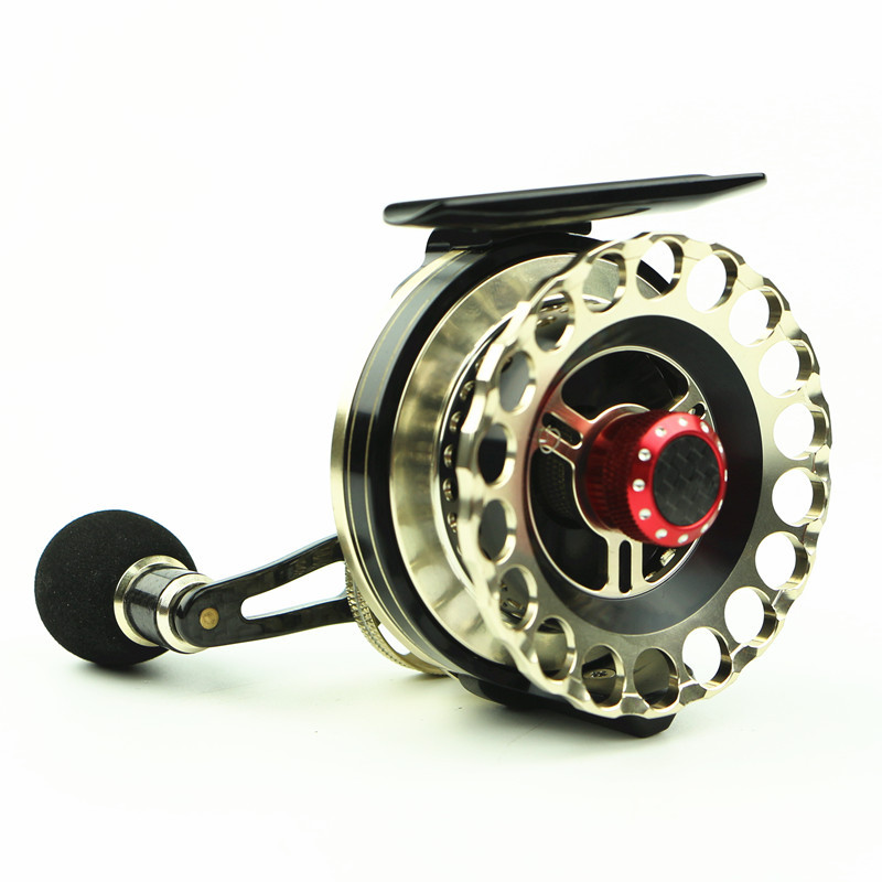 Roue de Valve en métal de CNC roue de radeau 6 + 1BB HHD65 Micro roue de plomb roue de pêche de sous-radeau de route --- DD2