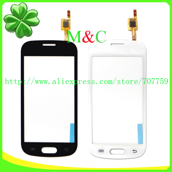 50pcs Original Touch Screen For Samsung Trend Lite GT-S7390 S7392 Touch Panel Glass Digitizer Lens by DHL EMS