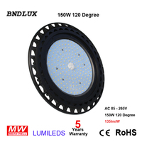 150W LED Gas Station Canopy Outdoor Light Ultra Thin Commercial High Bay Light With Junction Box