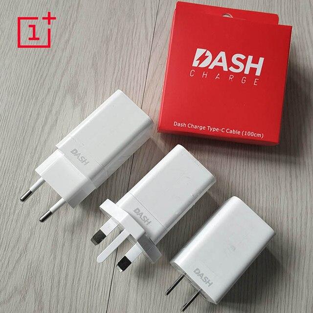 Original Oneplus 6 Dash Charger Eu Uk Us Plug Adapter Usb 3 1