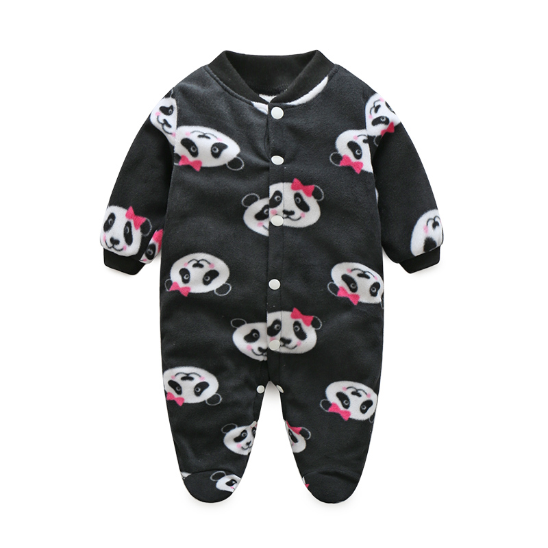 Cute Winter Baby Clothes Pajamas Newborn Baby Rompers Infant Long Sleeve Jumpsuits Boys Girl Spring Autumn bebes Clothes Wear cartoon fox baby rompers pajamas newborn baby clothes infant cotton long sleeve jumpsuits boy girl warm autumn clothes wear
