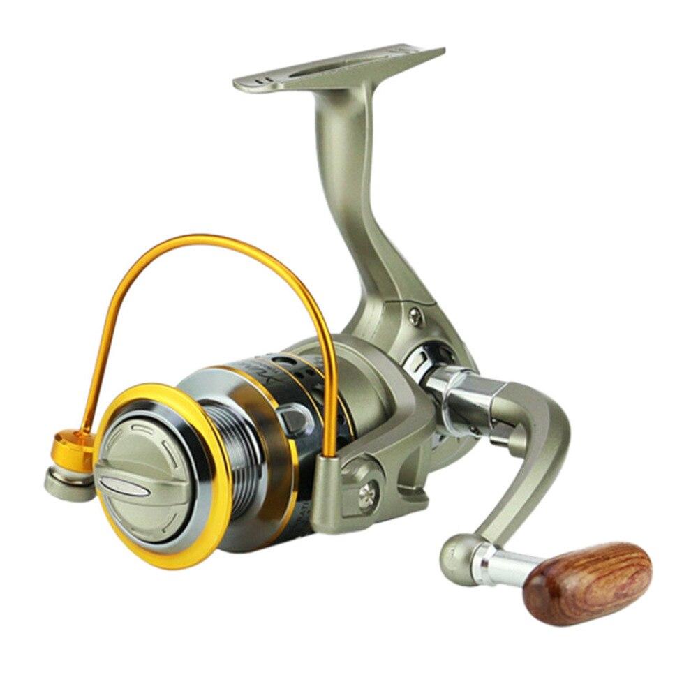 YUMOSHI Multicolor Räder Fisch Spinning Reel 5,5: 1 Carretilhas Pescaria Molinete LC1000-7000 Serie Zubehör #3N28