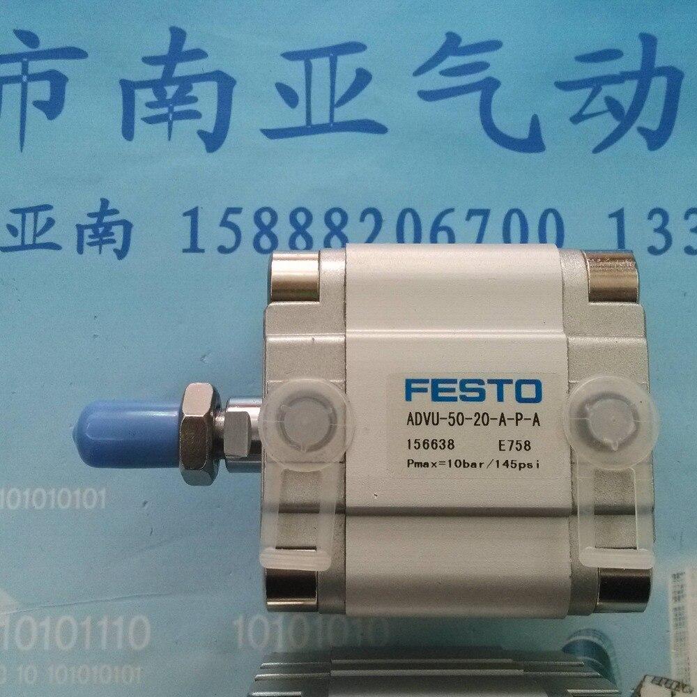 где купить  ADVU-50-20-A-P-A pneumatic air tools pneumatic tool pneumatic cylinder pneumatic cylinders air cylinder FEST0  дешево