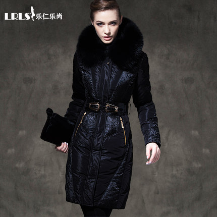 Royalcat luxury Down Coat 2016 Winter Jacket Women Down jackets Fur Hood thicken long Duck down coats Women's outerwear Parka