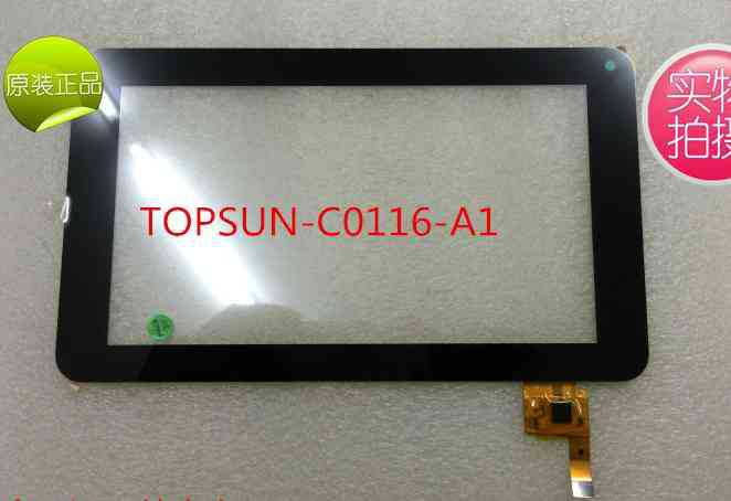 New 7 inch Prestigio Multipad 7.0 Ultra PMP3670B Tablet Touch Screen Digitizer Glass Touch Panel TOPSUN-C0116-A1 Free Shipping